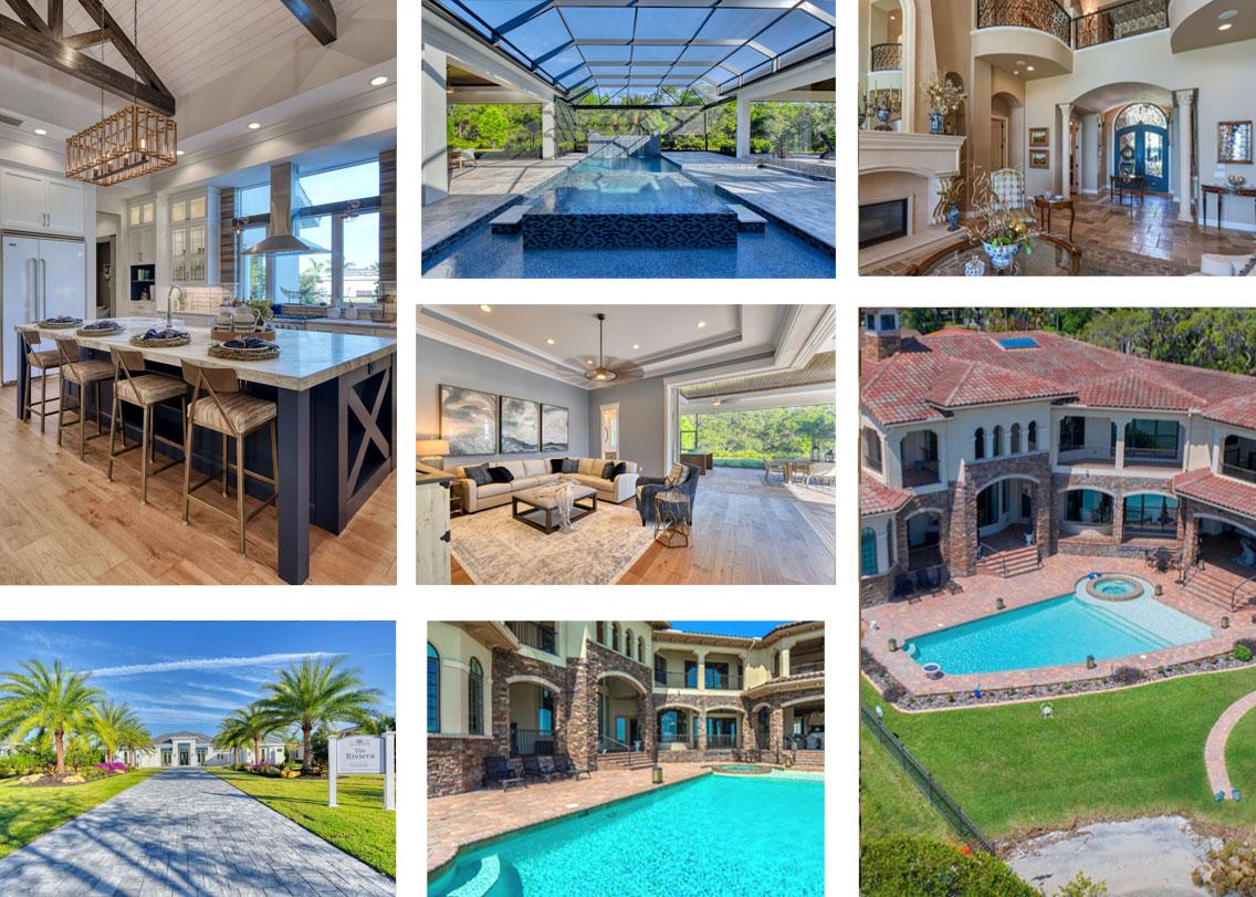 beach mansions